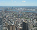 View of Statue of Manhattan from above Royalty Free Stock Photo