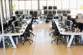 View Of Stock Trading Office Stock Images