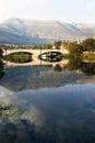 View of the Stone Bridge Royalty Free Stock Photo