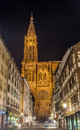 View of Strasbourg Cathedral Stock Images