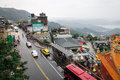 View of street in jiufen taiwan Royalty Free Stock Images