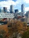 Toronto top view Royalty Free Stock Photo