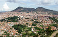 View of Sucre, Bolivia Stock Photography