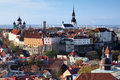 View of the Tallinn Old Town Royalty Free Stock Photo