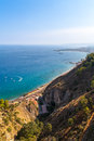 View from Taormina Stock Image