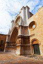 View of tarragona cathedral catalonia spain Stock Image