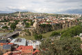 View of Tbilisi Royalty Free Stock Photo