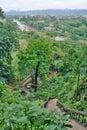 View from Tham Jang cave. Vang Vieng. Laos