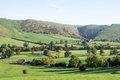 View of Thorpe Cloud, Dovedale, Derbyshire Royalty Free Stock Photo