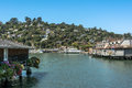 View of tiburon california usa july from the bay Royalty Free Stock Image
