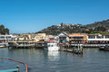 View of tiburon california usa july from the bay Stock Images