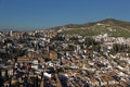 View to Albayzin, Granada, Spain Royalty Free Stock Photo