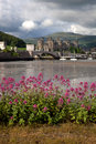 View to Conwy castle Stock Photography