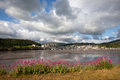 View to Conwy castle Royalty Free Stock Images
