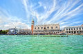 View to Doge's Palace in Venice Royalty Free Stock Photography