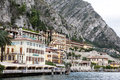 View to the lake Garda Royalty Free Stock Photography