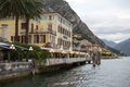 View to the lake Garda Stock Image