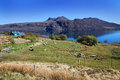 View to the little loch broom in sunny spring day scotland uk Royalty Free Stock Photos