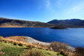 View to loch cluanie valley in scotland uk Stock Photography