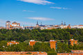 View to Madrid Spain Royalty Free Stock Photos