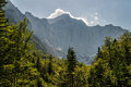 View to Mt. Triglav Royalty Free Stock Image