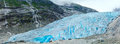 View to Nigardsbreen Glacier (Norway) Royalty Free Stock Photo