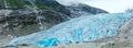 View to Nigardsbreen Glacier (Norway) Royalty Free Stock Photo