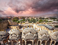 View to Old Jaipur city Royalty Free Stock Photo
