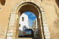 View to one of the gates of the medina in sfax tunisia november Stock Photography