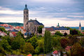 View to saint james cathedral in kutna hora czech republic Royalty Free Stock Photography