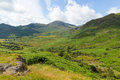 View to the south of blea tarn lake district cumbria england uk between great langdale and little langdale Stock Photo