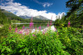 View to Strbske pleso in High Tatras during summer, Slovakia, Eu