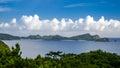 View of tokashiki island a in okinawa japan Royalty Free Stock Photos