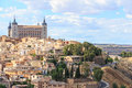 View of Toledo near Madrid Royalty Free Stock Photo