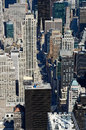 View from Top of the Empire State Building Royalty Free Stock Image