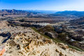 View at top of guge ruins full Royalty Free Stock Photos