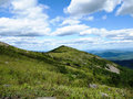 View from the top of the mountain tumannaya primorskiy krai russia Stock Photography