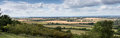 View towards Didcot Power Station from the Chilterns Royalty Free Stock Photo