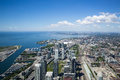 View from the Tower in Toronto Ontario Royalty Free Stock Photo
