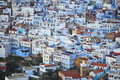 View of the town Chefchaouen Stock Photo
