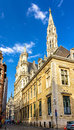 View of the town hall of brussels belgium Stock Photo