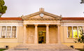 View of the Town Hall of Paphos Royalty Free Stock Photo