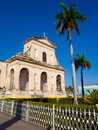 View of the town of Trinidad in CUba Stock Photos