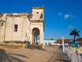 View of the town of Trinidad in Cuba Royalty Free Stock Image
