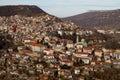 View from town Veliko Tarnovo in Bulgaria Royalty Free Stock Photo