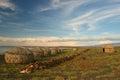 View of Turkana Village, Kenya Royalty Free Stock Photo