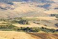 View of typical tuscany landscape in summer italy Stock Images