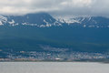 View of Ushuaia, Tierra del Fuego, Argentina Royalty Free Stock Photo