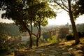 View from Veliko Tarnovo, Bulgaria Royalty Free Stock Photo
