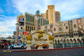 View of the venetian resort hotel casino in las vegas nv Stock Photography